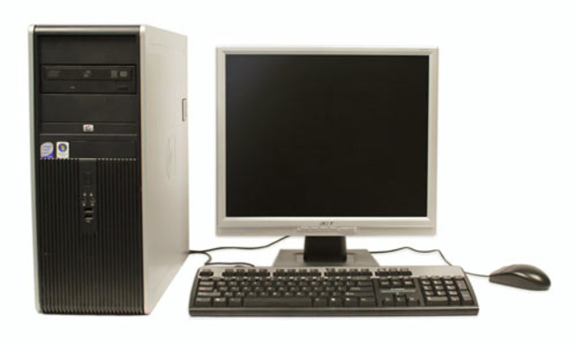 First exposure to computers