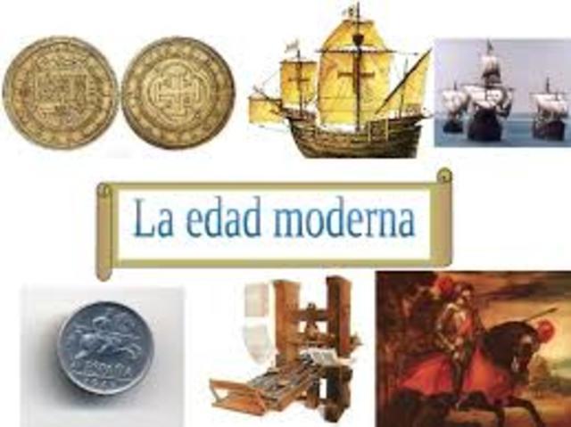 EDAD  MODERNA(1492-1789)