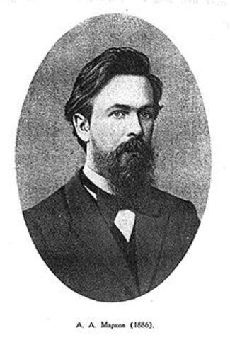 Andréi Márkov(Matemático Ruso) Modelos dinámicos probabilísticos-cadena de Márkov