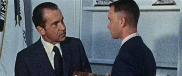 Meets Pres. Nixon / Watergate