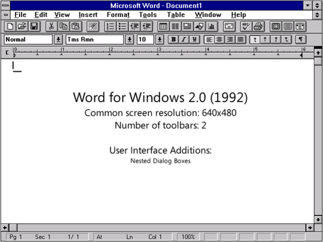 1987: Word 2.0