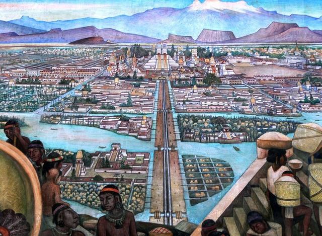 Tenochtitlan es fundada