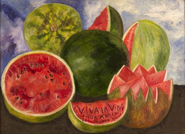 Su último cuadro también se exhibe en el Museo Frida Kahlo.