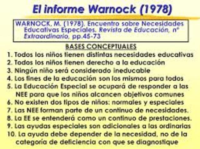 Aparece el informe Warnock