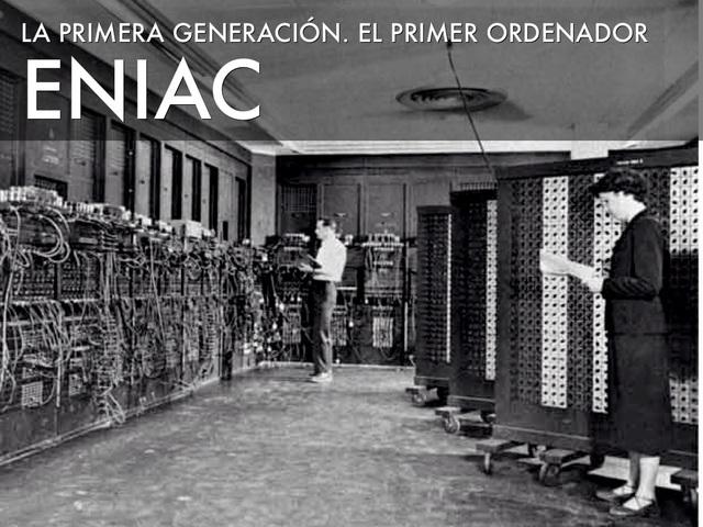 Surgimiento del primer Computador Digital.
