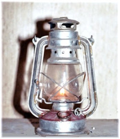 Iluminación de gas