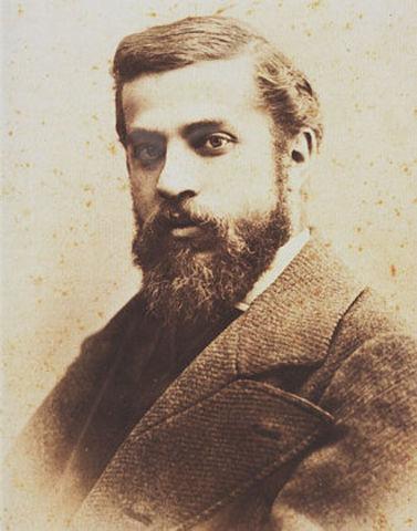 Nacimiento de Antoni Gaudi