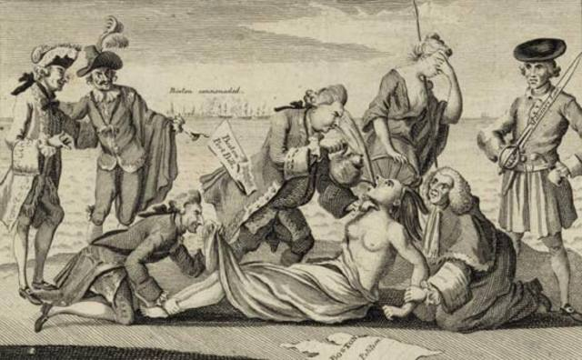 Intolerable Acts. (Leyes intolerables).