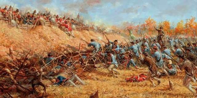 Batalla de Saratoga.