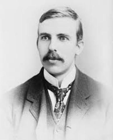 Ernest Rutherford has been Knighted.