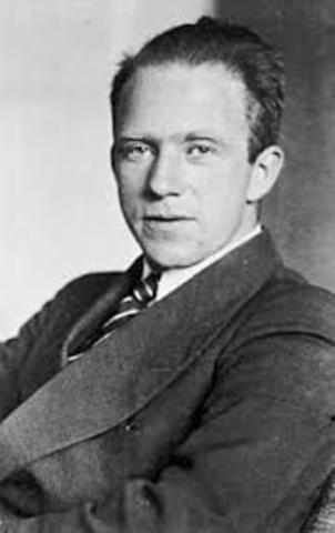 Werner Heisenberg wins a Nobel Prize in Physics