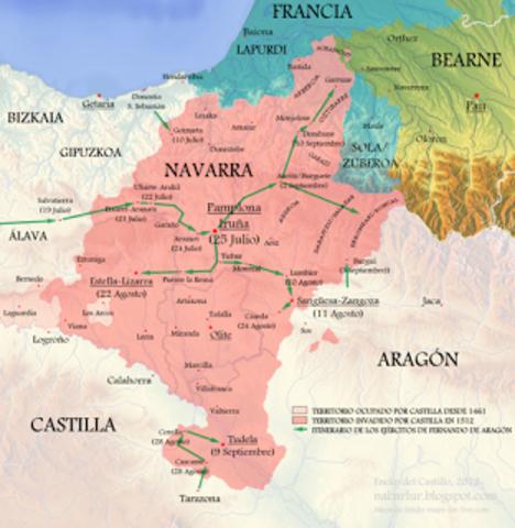 Incorporación de Navarra