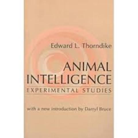 Edward Thorndike ¨Inteligencia animal¨