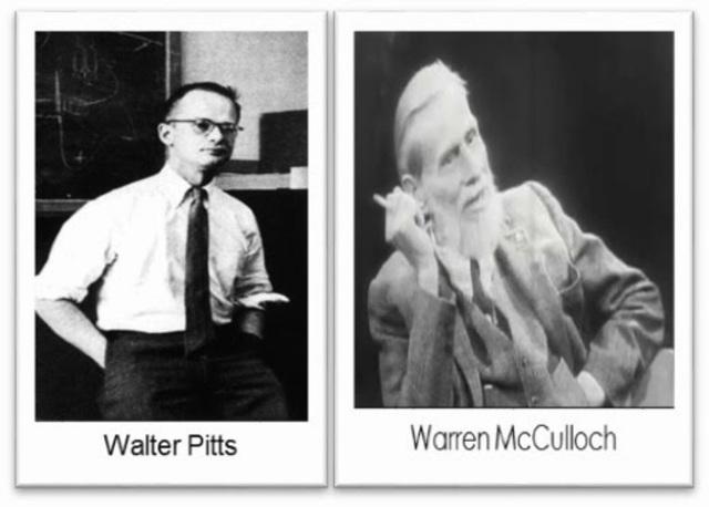 Warren McCulloch y Walter Pitts