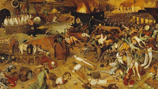 La muerte negra en el siglo XIV