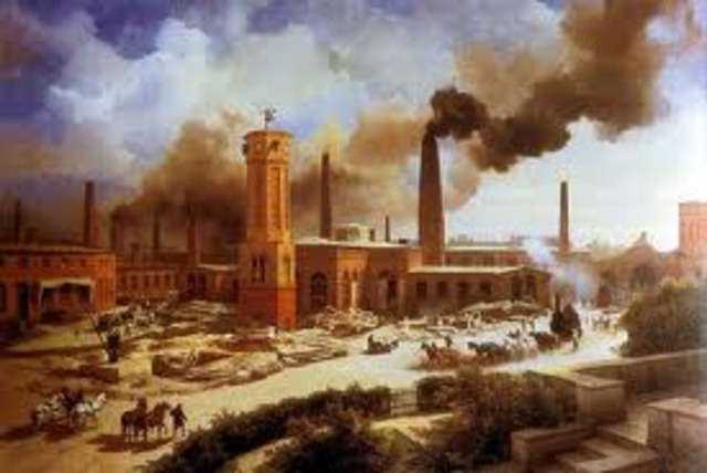 """England's """"First"""" Industrial Revolution"""