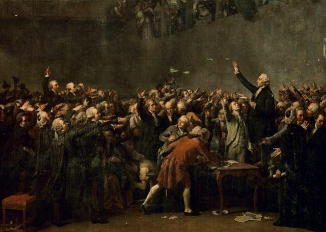 Robespierre diputado del 3er estado en Artois