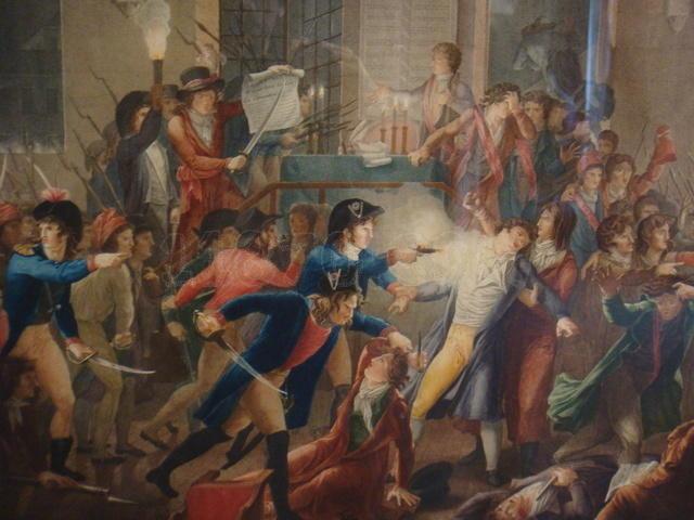 Robespierre y los Montañeses