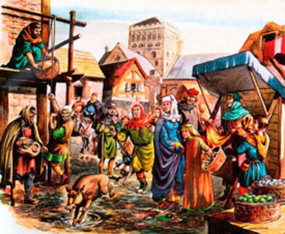 Edad Media por los años 476 a 1492