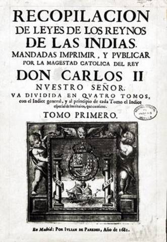 Descubrimiento de America y Conquista (Años 1503-1737)