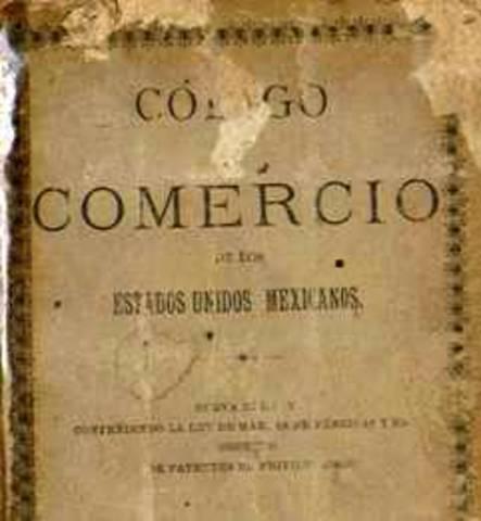 Primer código de comercio Mexicano (Años 1854 a 1855)