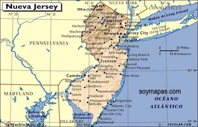 Nueva Jersey primer estado en facilitar el Derecho Empresarial (Año 1896)