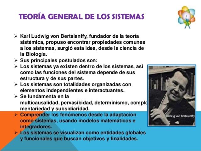 Teoría General de Sistemas de von Bertalanffy