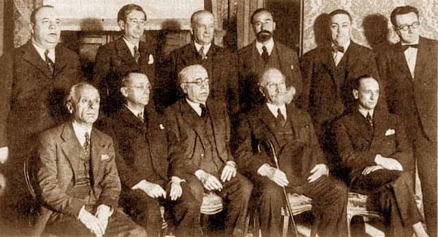 Firma del Pacto de San Sebastián