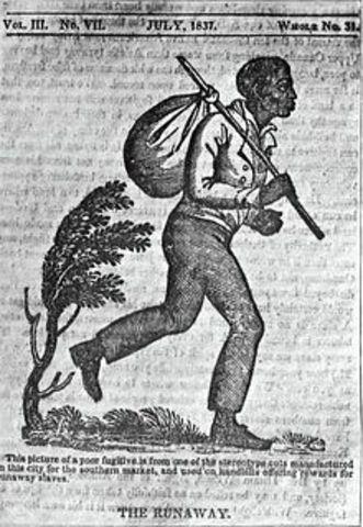 Primeras huida de los esclavizados