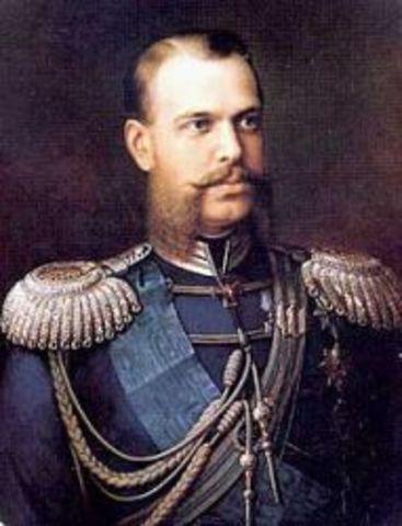 Terrorist's Bomb Kills Alexander II