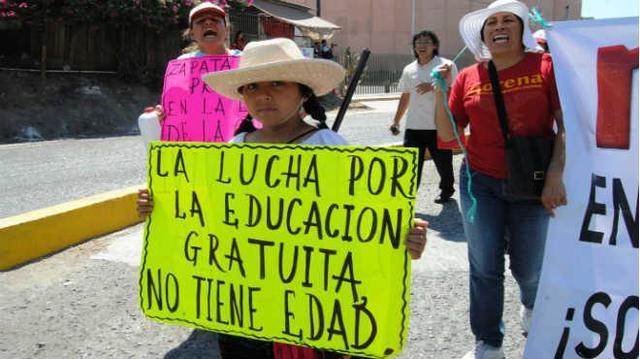 Movimiento Magisterial contra la reforma educativa