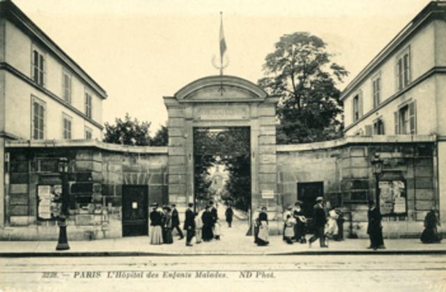 Hospital pediátrico en París