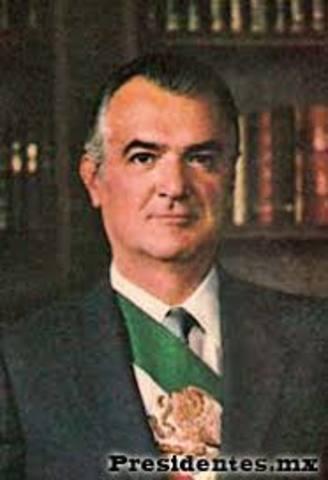 Jose Lopez Portillo 1970- 1979