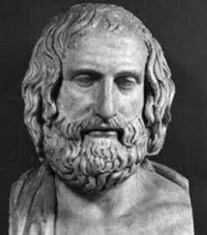 500 BCE - Anaxagoras