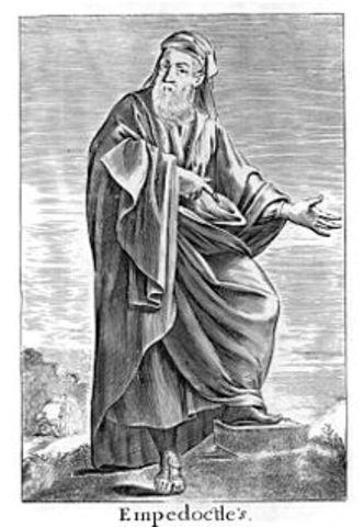 444 BCE - Muerte de Empédocles