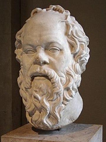 470 BCE - Sócrates