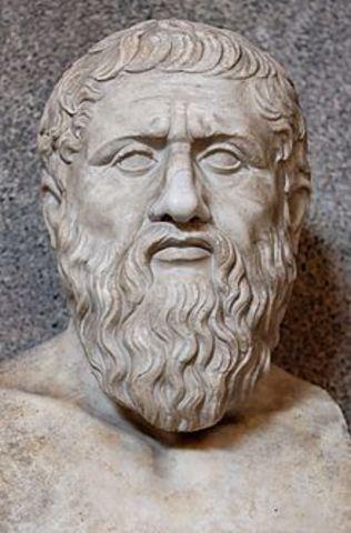 347 BCE - Muerte de Platón.