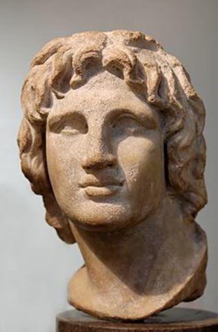 323 (10 o 13 de junio) BCE  - Muerte de Alejandro Magno
