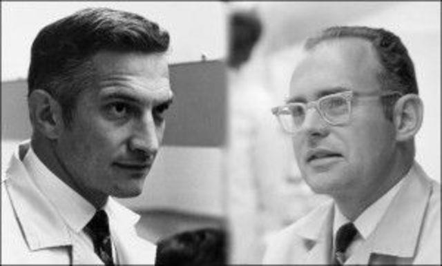 Robert Noyce y Gordon Moore
