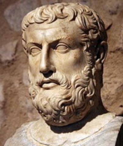 Paraménides de Elea ( Italiano, Griego  siglo VI a,C)