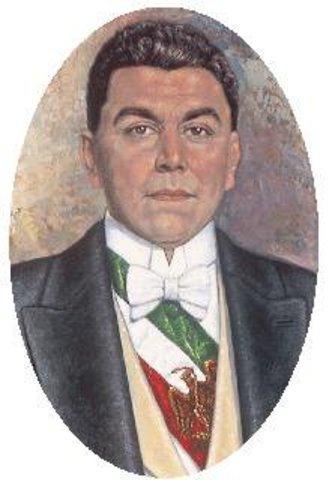 HUERTA, ADOLFO DE LA. Periodo presidencial: 1920