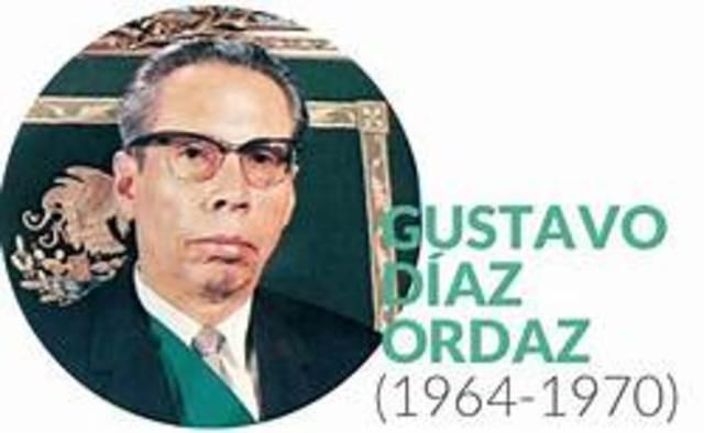 Gustavo Díaz Ordaz Periodo presidencial:1964-1970