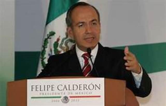Felipe Calderón (2006-2012) del Partido Acción Nacional (PAN),
