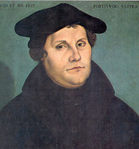 Martin Luther is born.