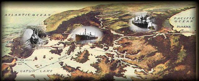 Digginf Panama Canal