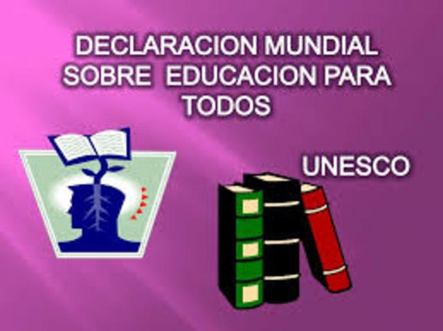 Declaración Mundial de la Educación para Todos