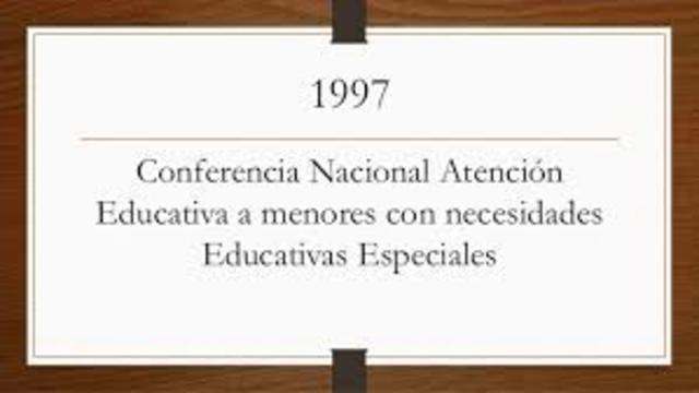 Conferencia Nacional «Atención Educativa a Menores con Necesidades Educativas Especiales: