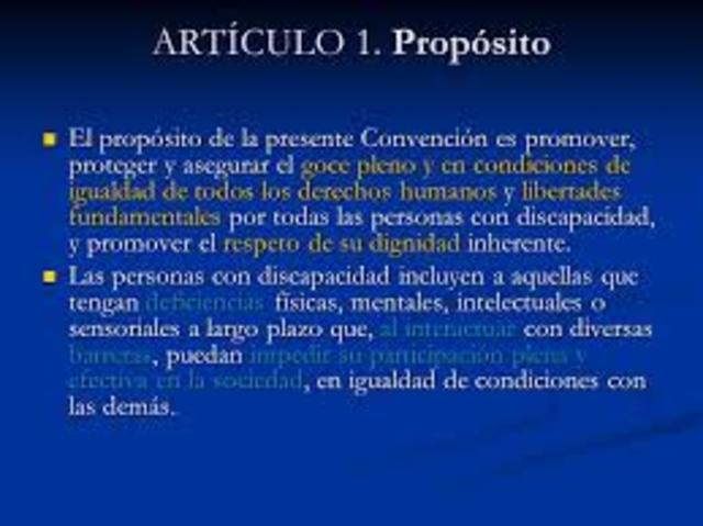 Artículo 1°
