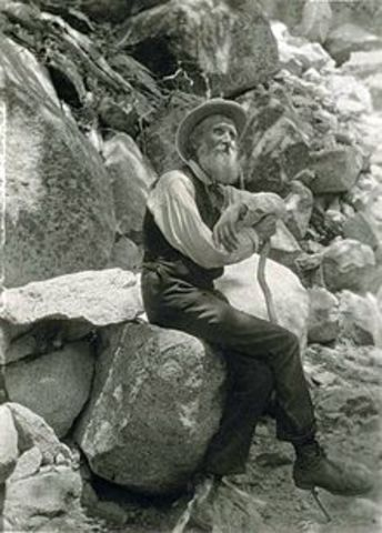 John Muir birth and what he founded