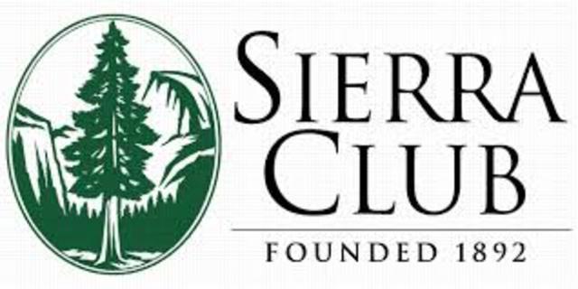 Sierra Club founded